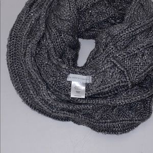New York & Company Accessories - Silver and grey Infinity Scarf.